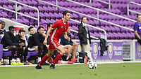 Orlando, Florida - Saturday January 13, 2018: Justin Fiddes. Match Day 1 of the 2018 adidas MLS Player Combine was held Orlando City Stadium.