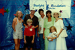 "One Life To Live Tyler Noyes ""CJ Roberts"" poses with castmates -  Wendy Pratt, Victor Browne ?Drew Buchanan?, Kevin Stapleton, ?Kevin Buchanan?,  Patricia Mauceri, Robin Strasser & Hayden Panettiere at a benefit event for Starlight Foundation of New York in New York City in 1995. (Photo by Sue Coflin/Max Photos)"