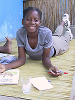 Zimpeto Center orphanage, Maputo, Mozambique, AFRICA, Iris Ministries, May 2001