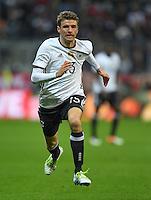 FUSSBALL INTERNATIONAL TESTSPIEL IN DER ALLIANZ ARENA MUENCHEN Deutschland - Italien    29.03.2016  Thomas Mueller (Deutschland)