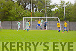 Action from the Denny Division 1B League Final Listowel Celtic against CG Killarney at Mounthawk park on Sunday