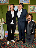 "LOS ANGELES, CA. October 04, 2018: Jamie Dornan, Sacha Gervasi & Peter Dinklage at the Los Angeles premiere for ""My Dinner With Herve"" at Paramount Studios.<br /> Picture: Paul Smith/Featureflash"