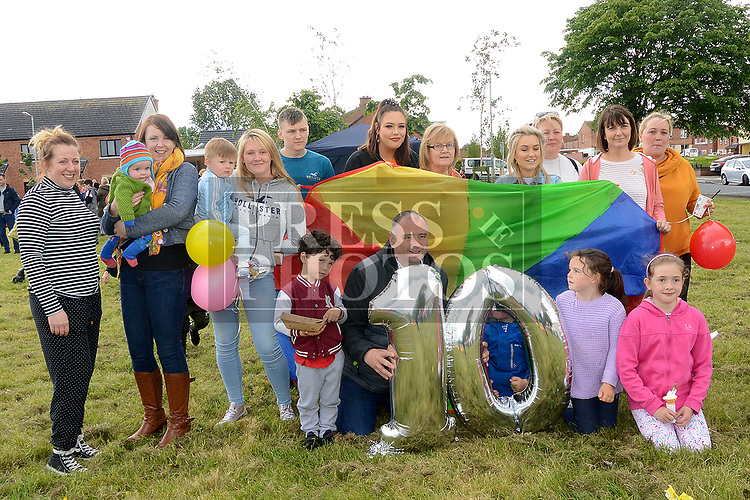 Residents at the 10th anniversary celebrations of McArdle Green estate in Moneymore. Photo:Colin Bell/pressphotos.ie