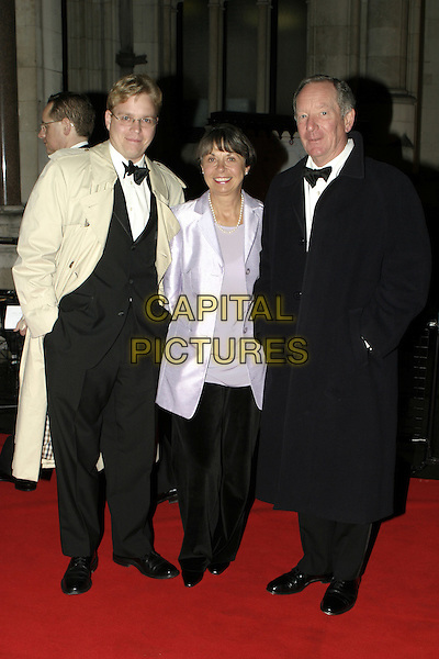 MICHAEL BUERK.Great Britons 2004  at The Royal Courts Of Justice..January 27th, 2005.full length, tuxedos.www.capitalpictures.com.sales@capitalpictures.com.© Capital Pictures.