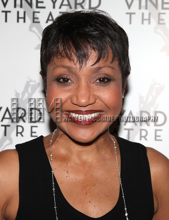 Brenda Pressley.attending the Opening Night Performance Reception for Nicky Silver's 'The Lyons' at the Vineyard Theatre in New York City.