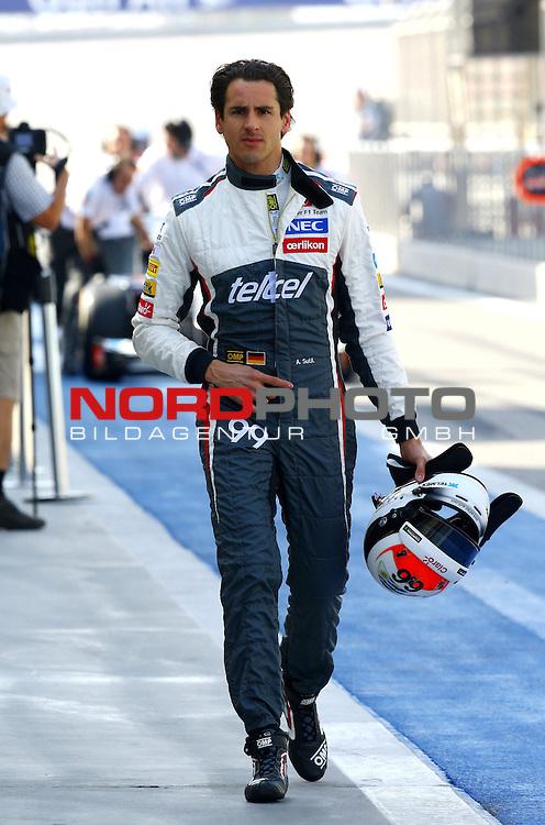 Adrian Sutil (GER), Sauber F1 Team<br /> for the complete Middle East, Austria &amp; Germany Media usage only!<br />  Foto &copy; nph / Mathis