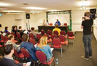 10-02-13, Tennis, Rotterdam,Pressconference with DelPotro