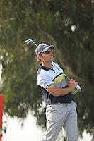 Ignacio Garrido (ESP) on the 12th during round three of Trophée Hassan II, Golf du Palais Royal, Agadir, Morocco 24/03/12.Picture Fran Caffrey www.golffile.ie