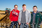 l-r  Joe Carroll, Sean Dowling and Enda Dunnigan at the Annual Ploughing Match in Ballyheigue,  held in the Rectory Field, Flahive Family on Sunday