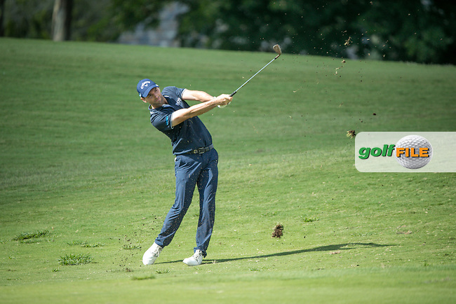 Oliver Wilson (ENG) during the 2nd round of the AfrAsia Bank Mauritius Open, Four Seasons Golf Club Mauritius at Anahita, Beau Champ, Mauritius. 30/11/2018<br /> Picture: Golffile | Mark Sampson<br /> <br /> <br /> All photo usage must carry mandatory copyright credit (© Golffile | Mark Sampson)