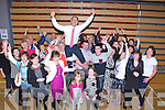 John Joe Culloty celebrates Sunday morning after being elected for the first time with his family and friends