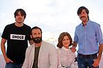 50 Festival Internacional de Cinema Fantastic de Catalunya-Sitges 2017.<br /> Photocall Dhogs.<br /> Andres Goteira, Ivan Marcos, Maria Costas &amp; Xose Lopez.
