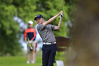 Cian O'Sullivan (Killiney) during the final round of the Connacht Boys Amateur Championship, Oughterard Golf Club, Oughterard, Co. Galway, Ireland. 05/07/2019<br /> Picture: Golffile | Fran Caffrey<br /> <br /> <br /> All photo usage must carry mandatory copyright credit (© Golffile | Fran Caffrey)