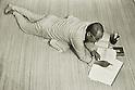 1976 - Nobuo Kanneko was a Japanese actor. (Photo by Koichi Saito/AFLO)