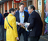 Caroline Pidgeon, Liberal Democrat Mayoral candidate campaigning with former Liberal Democrat Leader and Deputy Prime Minister Nick Clegg MP at Putney railway station, London, Great Britain <br /> <br /> 4th May 2016<br /> <br /> <br /> <br /> Photograph by Elliott Franks <br /> Image licensed to Elliott Franks Photography Services