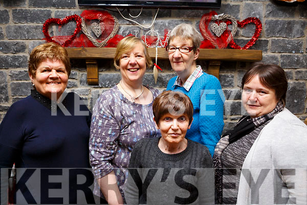 Elenor Kelliher, Catherine Needam, Clare Needam, Mary McCole and Patricia White (All Tralee) enjoying their pancakes in the Brogue Inn on Tuesday morning in aid of Recovery Haven.