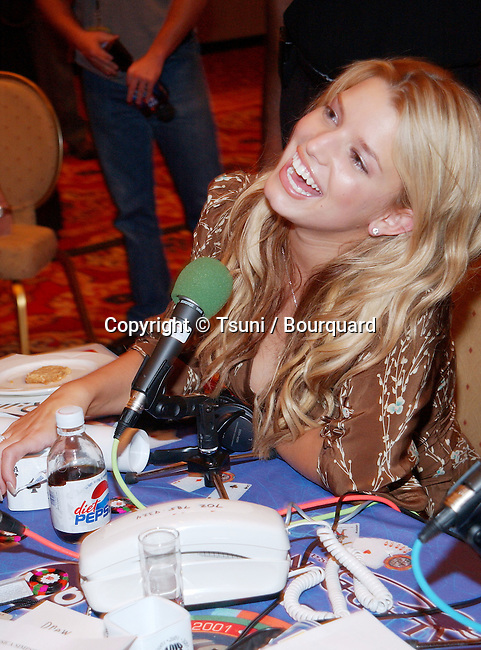 Jessica Simpson at the Radio MegaBlast, a two-day event part of the Radio Music Awards that is packed with live radio broadcasts, receptions, concerts, awards ceremonies and more at the Aladdin Resort and Casino,  Thursday, Oct. 25, 2001.            -            SimpsonJessica01A.jpg