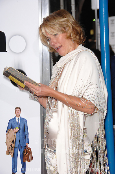 """EMMA THOMPSON at the Los Angeles premiere of her new movie """"Stranger than Fiction""""..October 30, 2006  Los Angeles, CA.Picture: Paul Smith / Featureflash"""