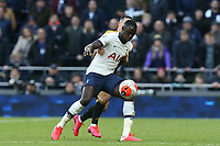 Davinson Sanchez of Tottenham Hotspur during Tottenham Hotspur vs Wolverhampton Wanderers, Premier League Football at Tottenham Hotspur Stadium on 1st March 2020