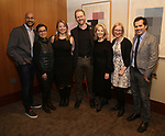 Keegan-Michael Key, Lea Salonga, Irene Sankoff, David Hein, Daryl Roth, Heather A. Hitchens and  John Leguizamo attends the Theatre Forward Broadway Roundtable on February 2, 2018  at UBS in New York City.