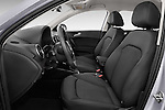 Front seat view of 2015 Audi A1 Sportback 5 Door Hatchback Front Seat car photos