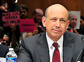 """Lloyd Blankfein, Chairman and Chief Executive Officer, The Goldman Sachs Group, Inc. (GSI), testifies before the United States Senate Permanent Subcommittee on Investigations hearing on """"Wall Street and the Financial Crisis: The Role of Investment Banks"""" using Goldman Sachs as a case study on Tuesday, April 27, 2010. .Credit: Ron Sachs / CNP.(RESTRICTION: NO New York or New Jersey Newspapers or newspapers within a 75 mile radius of New York City)"""