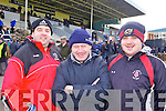 Sean Normile, Tom Scanlon and Dave Killeen from Glin enjoying the atmosphere at the National Coursing Meeting in Clonmel on Wednesday.