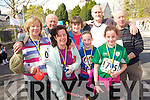 The Jack and Jill run up the hill was well attended on Saturday. .Front L-R Sinead O'Donovan, Emma O'Sullivan and Julie O'Sullivan. .Back L-R Mary Griffin, Pat and John O'Sullivan and John Griffin.