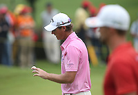 Nicolas Colsaerts (BEL) produced a clean 70 and T2 during the Final Round of the 2014 Maybank Malaysian Open at the Kuala Lumpur Golf & Country Club, Kuala Lumpur, Malaysia. Picture:  David Lloyd / www.golffile.ie