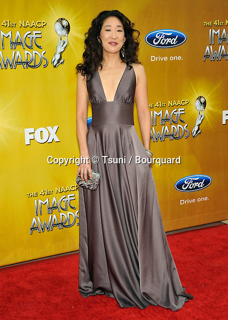 Sandra Oh _31   -.41st NAACP Image Awards at the Shrine Auditorium in Los Angeles.