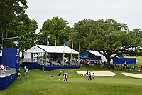 A wide shot of the green on 17 during the round 2 of the KPMG Women's PGA Championship, Hazeltine National, Chaska, Minnesota, USA. 6/21/2019.<br /> Picture: Golffile | Ken Murray<br /> <br /> <br /> All photo usage must carry mandatory copyright credit (© Golffile | Ken Murray)