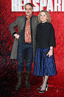 "Jeremy Irons and Sinead Cusack<br /> arriving for the ""Red Sparrow"" premiere at the Vue West End, Leicester Square, London<br /> <br /> <br /> ©Ash Knotek  D3382  19/02/2018"