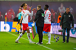 07.10.2018, Red Bull Arena, Leipzig, GER, 1. FBL 2018/2019, RB Leipzig vs. 1. FC N&uuml;rnberg/Nuernberg,<br /> <br /> DFL REGULATIONS PROHIBIT ANY USE OF PHOTOGRAPHS AS IMAGE SEQUENCES AND/OR QUASI-VIDEO.<br /> <br /> im Bild<br /> <br /> <br /> Auswechslung von Yussuf Poulsen (#9, RB Leipzig), <br /> <br /> Foto &copy; nordphoto / Dostmann