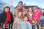 FAMILY: Family day out for the Mongan Family from Tarbert at the Kerry Home and Garden Show on the Dan Spring Road, Tralee on Saturday.L-r: Geraldine Mhoney, Louise,Conor,Rachel,Sandra and Joe Mongan.   Copyright Kerry's Eye 2008