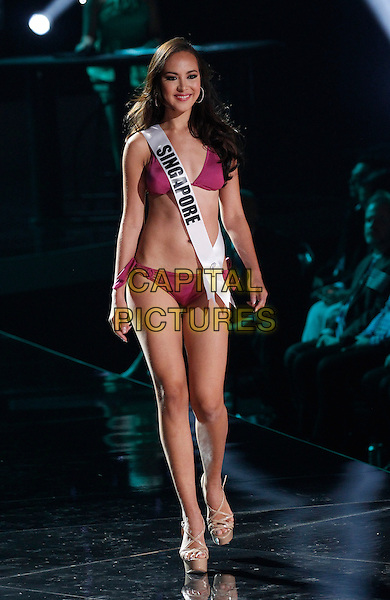 16 December 2015 - Las Vegas, Nevada -  Miss Singapore, Lisa Marie White. 2015 Miss Universe Preliminary Competition at Axis at Planet Hollywood Resort and Casino. <br /> CAP/ADM/MJT<br /> &copy; MJT/AdMedia/Capital Pictures