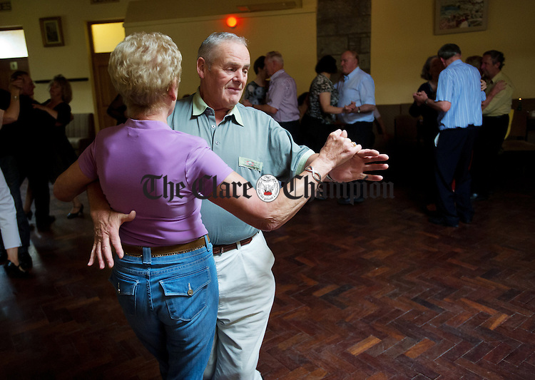 Old time waltzing in the Rathbaun during the Lisdoonvarna Matchmaking Festival. Photograph by John Kelly.