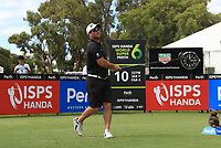 Ryan Fox (NZL) on the 10th tee during the Pro-Am of the ISPS Handa World Super 6 Perth at Lake Karrinyup Country Club on the Wednesday 7th February 2018.<br /> Picture:  Thos Caffrey / www.golffile.ie<br /> <br /> All photo usage must carry mandatory copyright credit (&copy; Golffile | Thos Caffrey)