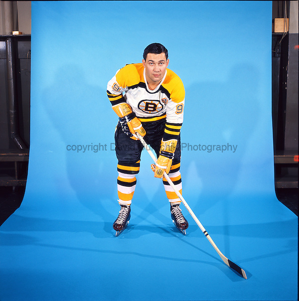 PORTRAIT OF JOHN BUCYK,  of the Boston Bruins, believed to be from the 1966 season