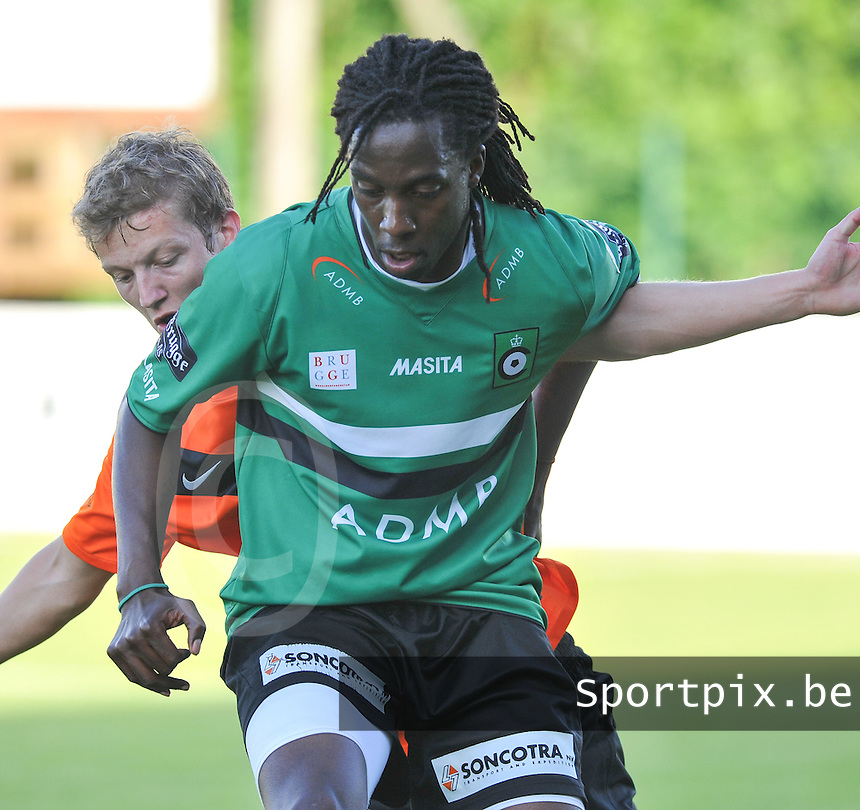 KSV Cercle Brugge : Carlos RUDY Cachicote.foto VDB / BART VANDENBROUCKE