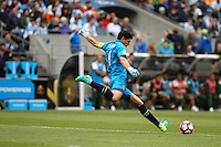 Seattle, WA - Tuesday June 14, 2016: Carlos Lampe during a Copa America Centenario Group D match between Argentina (ARG) and Bolivia (BOL) at CenturyLink Field.
