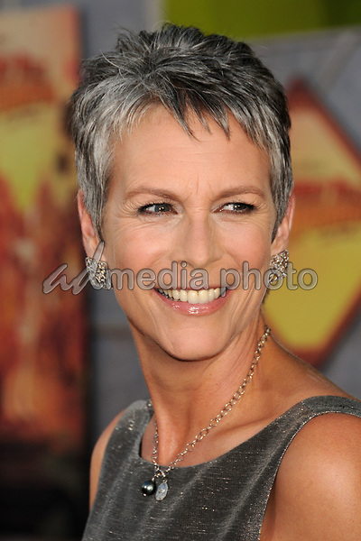 """18 September 2008 - Hollywood, California - Jamie Lee Curtis. """"Beverly Hills Chihuahua"""" Los Angeles Premiere at the El Capitan Theatre. Photo Credit: Byron Purvis/AdMedia"""