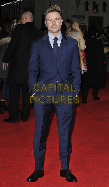 LONDON, ENGLAND - NOVEMBER 25: Joe Dempsie attends the &quot;Unbroken&quot; UK film premiere, Odeon Leicester Square cinema, Leicester Square, on Tuesday November 25, 2014 in London, England, UK. <br /> CAP/CAN<br /> &copy;Can Nguyen/Capital Pictures