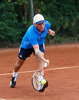 2013,August 21,Netherlands, Amstelveen,  TV de Kegel, Tennis, NVK 2013, National Veterans Tennis Championships,   Klaas Slingerland<br /> Photo: Henk Koster