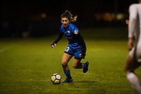Seattle, WA - Thursday, March, 08, 2018: Shannon Simon during a preseason match between the Seattle Reign FC and University of Washington at Husky Soccer Stadium.