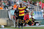 20 April 2013: Fort Lauderdale's Darnell King. The Carolina RailHawks played the Fort Lauderdale Strikers at WakeMed Stadium in Cary, North Carolina in a North American Soccer League Spring 2013 Season regular season game.