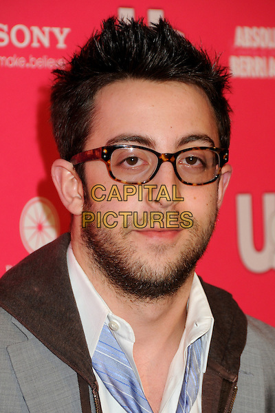 ADAM ROSE.US Weekly Hot Hollywood Style Issue Event held at Drai's at the W Hollywood Hotel, Hollywood, California, USA..April 22nd, 2010.headshot portrait glasses beard facial hair grey gray brown.CAP/ADM/BP.©Byron Purvis/AdMedia/Capital Pictures.