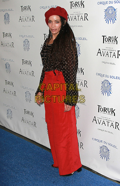 11 November 2016 - Los Angeles, California - Lisa Bonet. Cirque du Soleil &quot;Toruk - The First Flight&quot; Opening Night held at Staples Center. <br /> CAP/ADM/PMA<br /> &copy;PMA/ADM/Capital Pictures