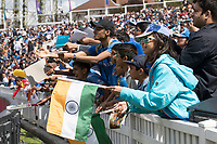 Plenty of support for India during India vs New Zealand, ICC World Cup Warm-Up Match Cricket at the Kia Oval on 25th May 2019