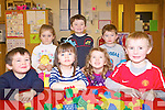 Children from First Step Childcare Centre in Listry feature in a very special 2011 calendar which will be distributed to parents and family members to help support the centre. .Back L-R Ellie May Byrne, Darragh Burke and Cian Burke. .Front L-R Sean Griffin, Leah Brennan, Sarah Fitzgerald and Darragh Foley.