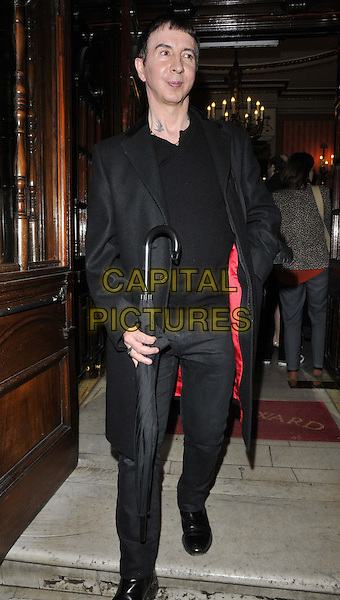 LONDON, ENGLAND - FEBRUARY 25: Marc Almond attends the &quot;The Full Monty&quot; press night, Noel Coward Theatre, St Martin's Lane, on Tuesday February 25, 2014 in London, England, UK.<br /> CAP/CAN<br /> &copy;Can Nguyen/Capital Pictures